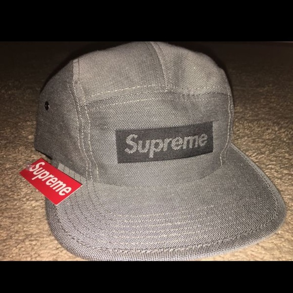 c023719c674 Supreme grey box logo hat
